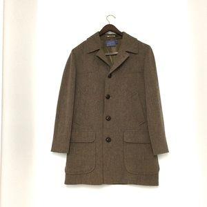 Pendleton Virgin Wool Car Coat